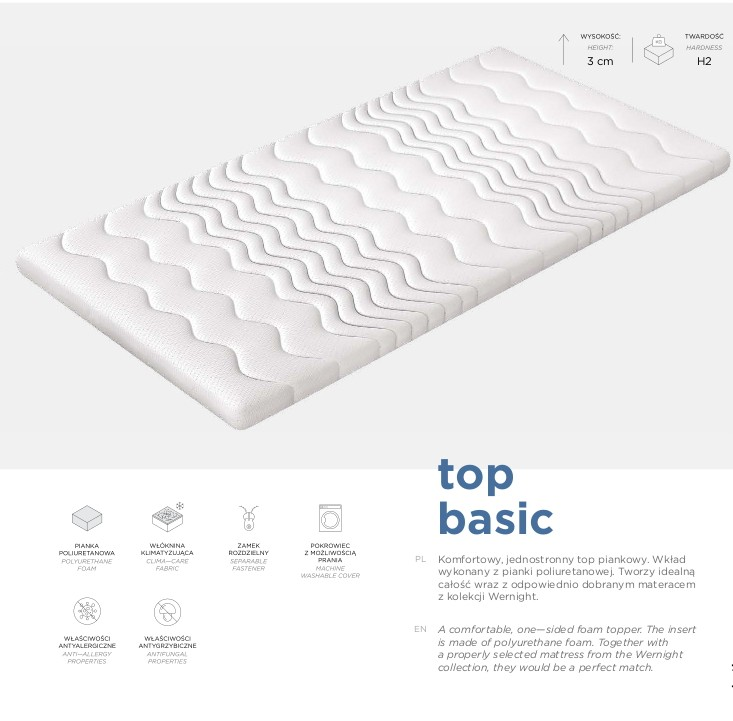 Top BASIC komfortschaum 3 cm