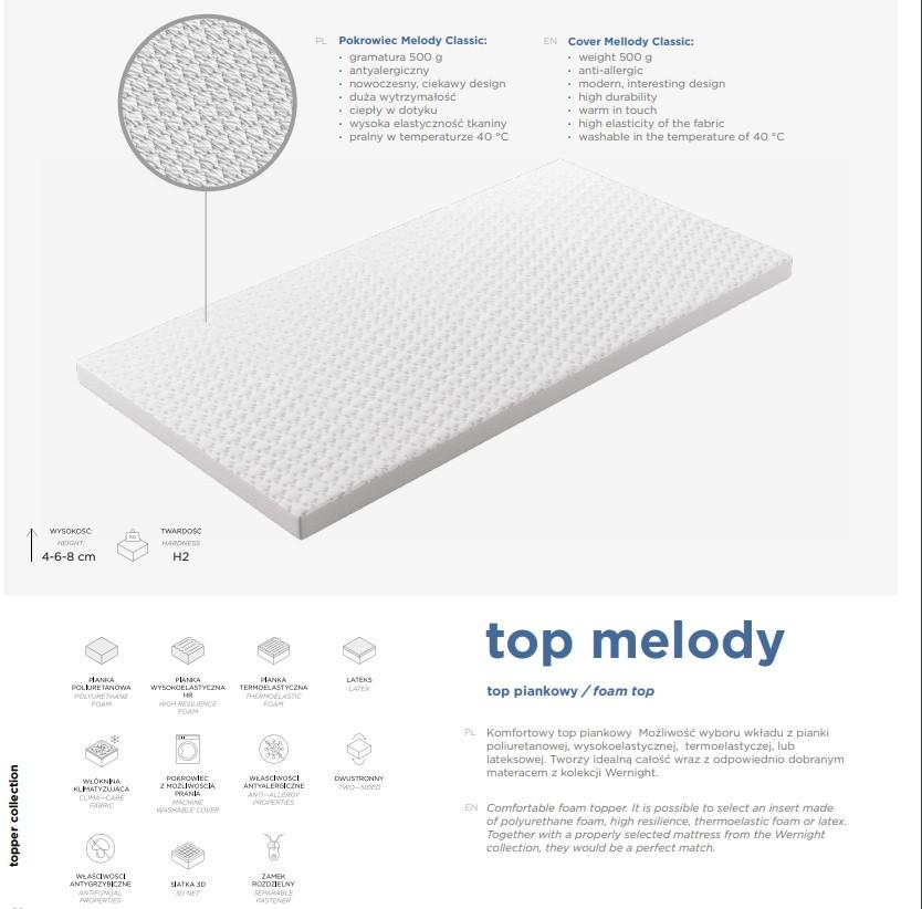 Top ZOOM kaltschaum 8 cm